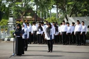 Upacara Hari Ibu 2015 BPK Kalimantan Barat b