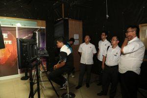Visit ke Ruang Studio PONTV